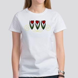 Red Tulips Women's T-Shirt
