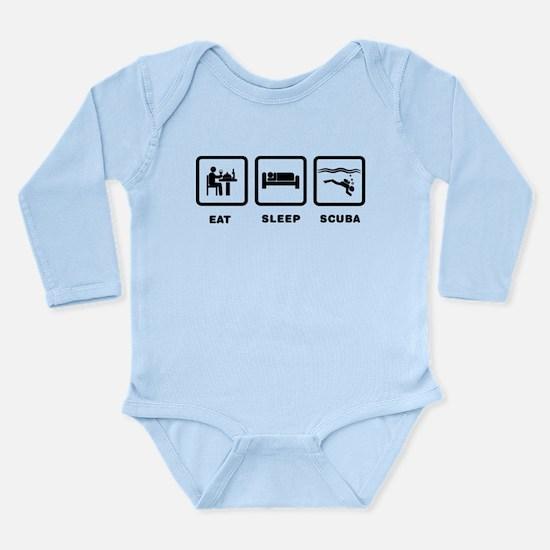 Scuba Diving Long Sleeve Infant Bodysuit