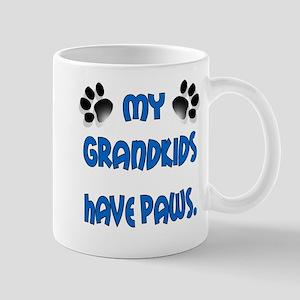 My Grandkids Have Paws Mug
