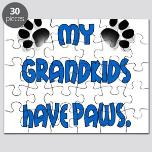 My Grandkids Have Paws Puzzle