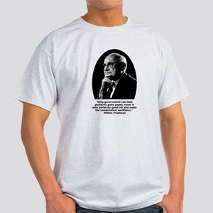 Friedman Paper Quote Light T-Shirt