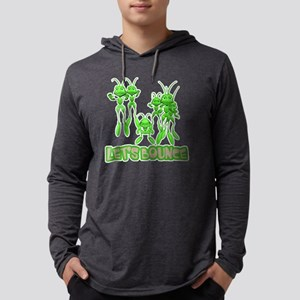 Lets Bounce Grasshoppers Mens Hooded Shirt