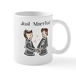 Gay Wedding 2 Grooms Mug