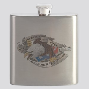 Freedom Isnt Free But Its Worth Fighting For Flask