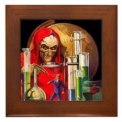 Dr. Death Framed Tile