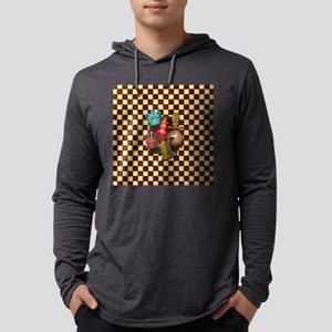 Chess Boxes Mens Hooded Shirt