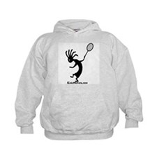 Kokopelli Tennis Player Kids Hoodie