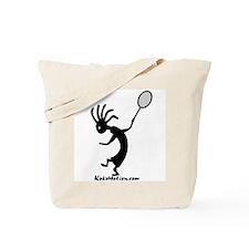 Kokopelli Tennis Player Tote Bag