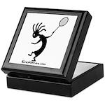 Kokopelli Tennis Player Keepsake Box