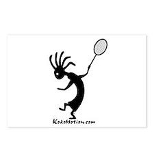 Kokopelli Tennis Player Postcards (Package of 8)
