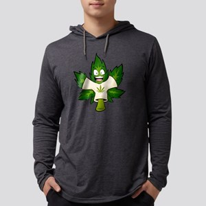 Happy for Hemp Mens Hooded Shirt
