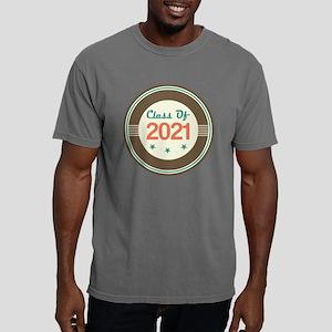 Class Of 2021 Vintage Mens Comfort Colors Shirt