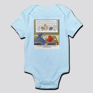 Dog Lineup Infant Bodysuit