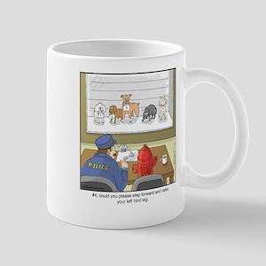 Dog Lineup Mug