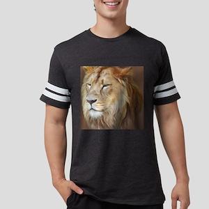 Painting Lion Mens Football Shirt