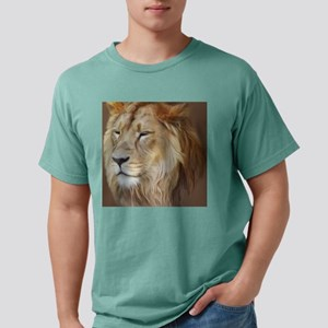 Painting Lion Mens Comfort Colors Shirt