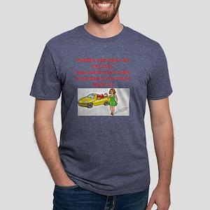 mcp joke Mens Tri-blend T-Shirt
