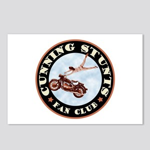 Cunning Stunts Postcards (Package of 8)