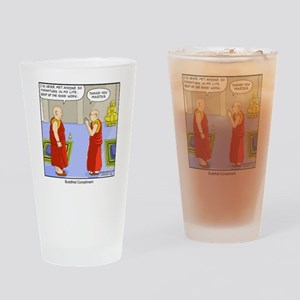 Buddhist Compliment Drinking Glass