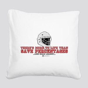 """""""More To Life"""" Square Canvas Pillow"""