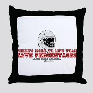 """More To Life"" Throw Pillow"
