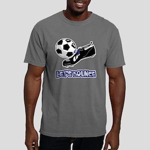Lets Bounce Soccer Ball. Mens Comfort Colors Shirt