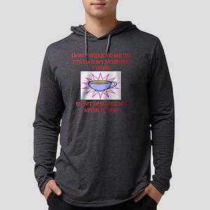 COFFEE Mens Hooded Shirt