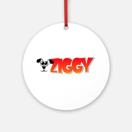 Ziggy's Logo Ornament (Round)