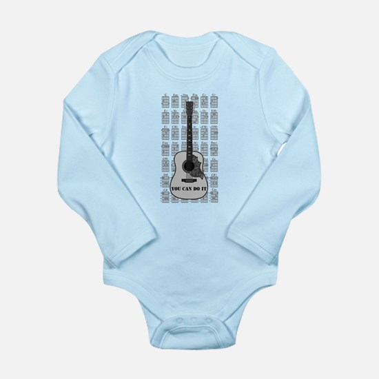 G and C 01 Long Sleeve Infant Bodysuit