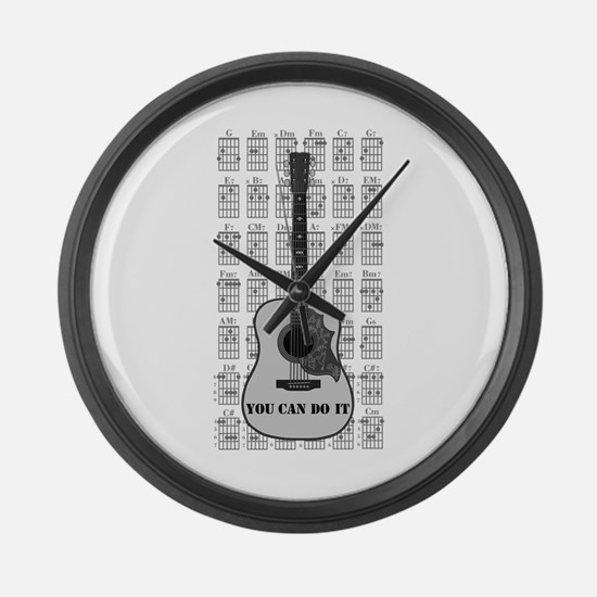 G and C 01 Large Wall Clock