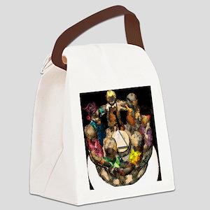 AARoundofFRIENDZ Canvas Lunch Bag