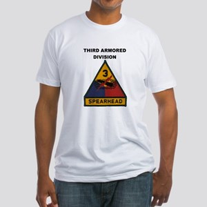 THIRD ARMORED DIVISION Fitted T-Shirt