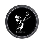Kokopelli Tennis Player Wall Clock