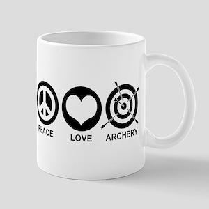 Peace Love Archery Mug