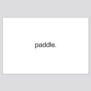Paddle Large Poster