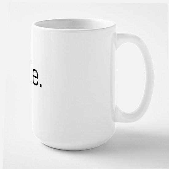 Paddle Large Mug