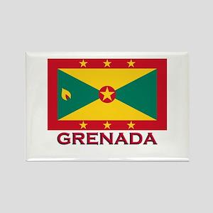Grenada Flag Stuff Rectangle Magnet