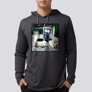 donuts and coffee Mens Hooded Shirt