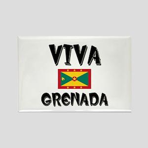 Viva Grenada Rectangle Magnet