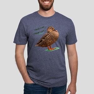 thinkIcanduck Mens Tri-blend T-Shirt