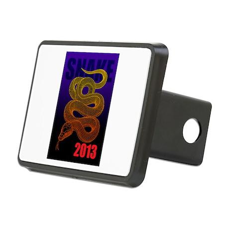 2013snake2 Rectangular Hitch Cover