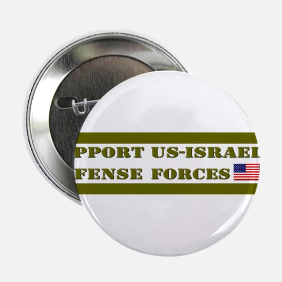 """Support Israeli Defense Forces IDF 2.25"""" Button"""