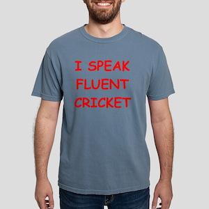 i love cricket Mens Comfort Colors Shirt