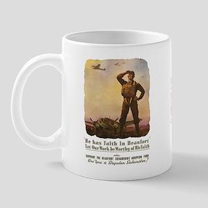 Beaufort WWII Poster Mug