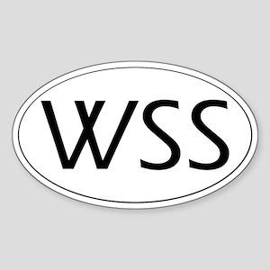 WSS Sticker