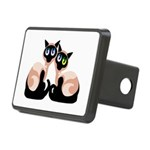 siamese twins redone Rectangular Hitch Cover