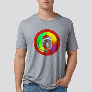 Calypso Santa Mens Tri-blend T-Shirt