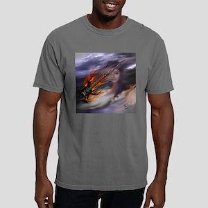 FlameGuitarSkyGirlSquare Mens Comfort Colors Shirt
