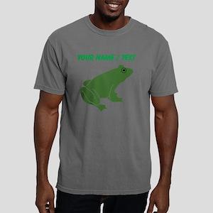 Custom Green Toad Mens Comfort Colors Shirt