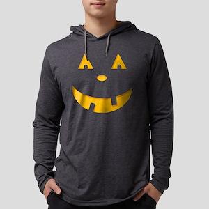 pumpkin Mens Hooded Shirt